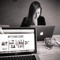 Fitgirlcode blog in een weekend gemaakt.