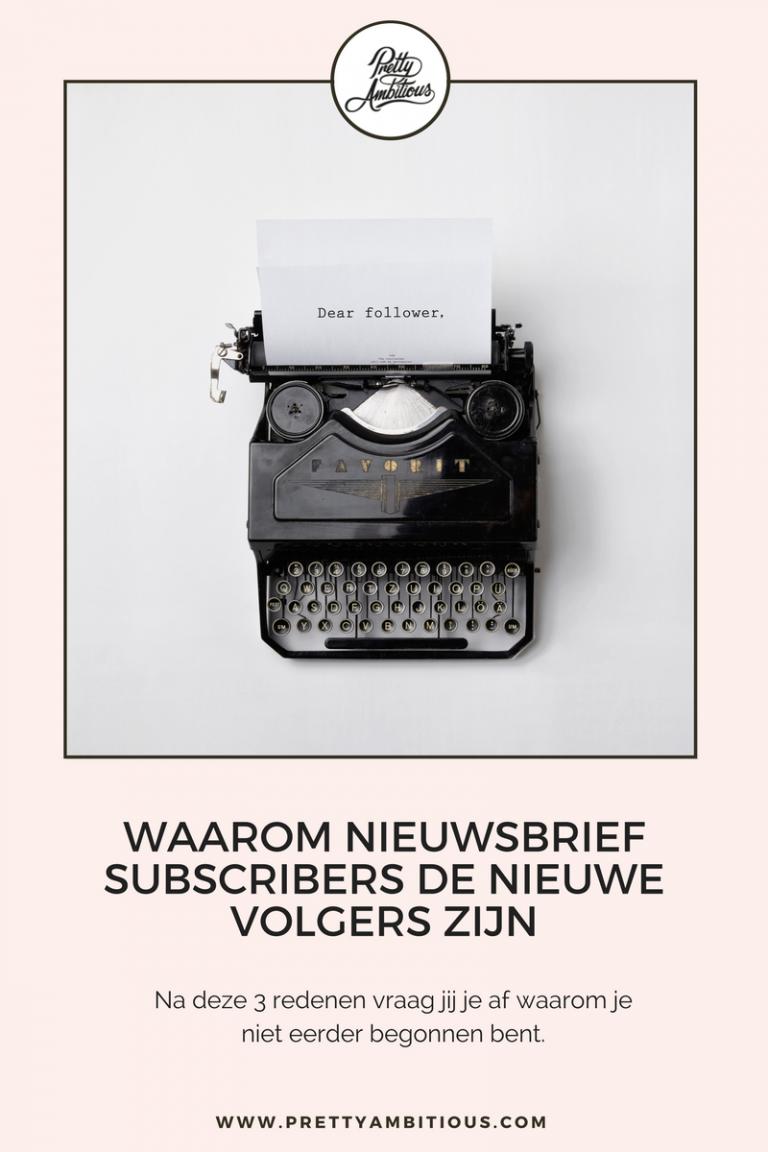 nieuwsbrief subscribers