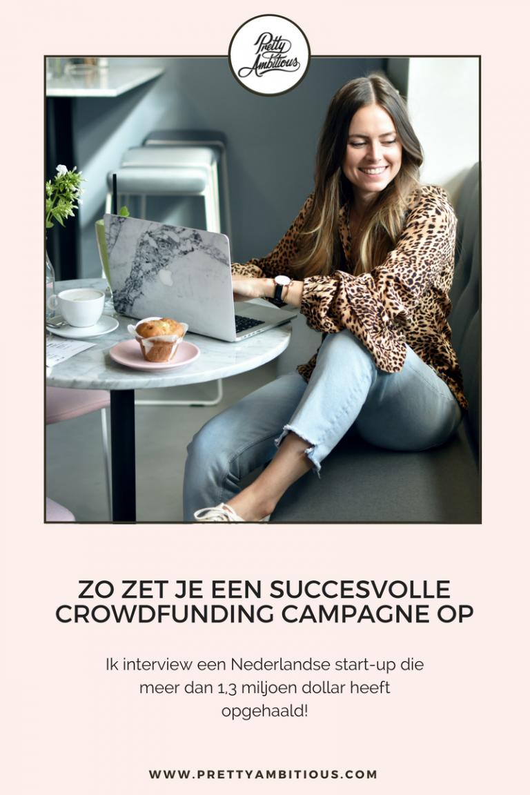 crowdfunding campagne opzetten