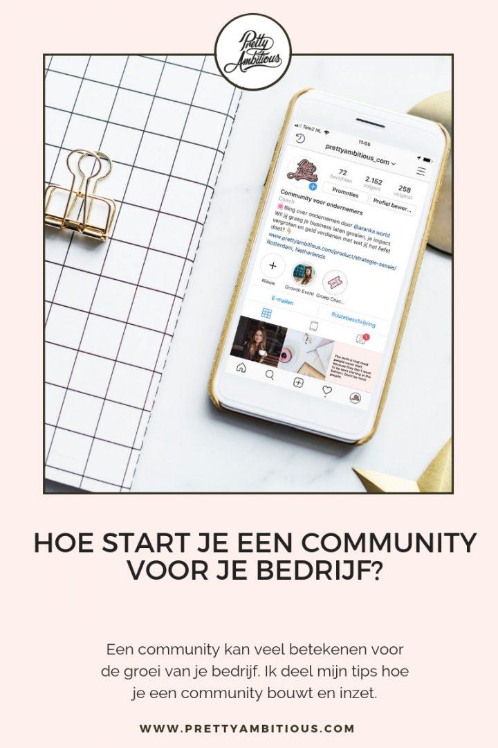 Tips voor het bouwen van een community voor je bedrijf?