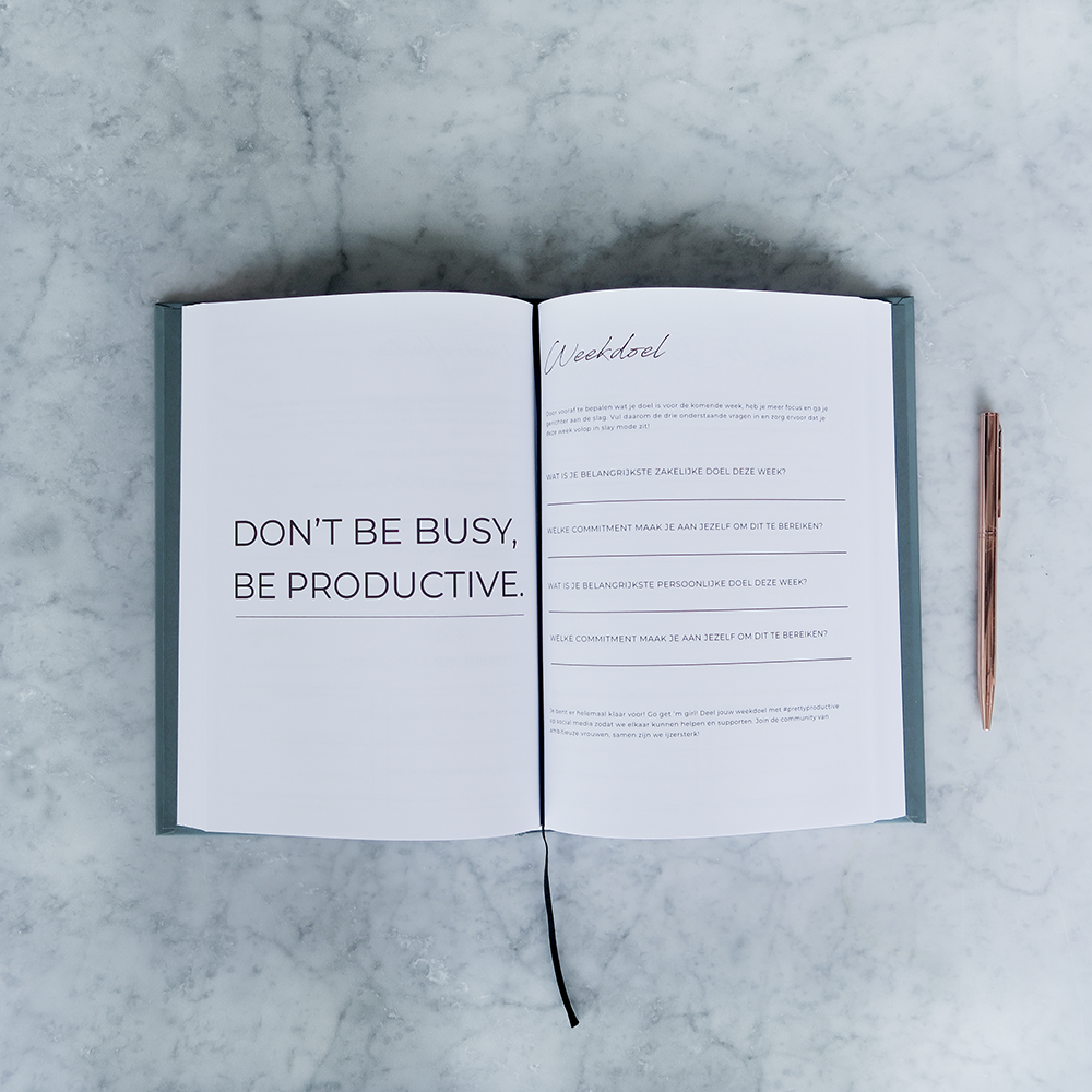 Planning Pretty: Pretty Productive Planner + Pen + Tas